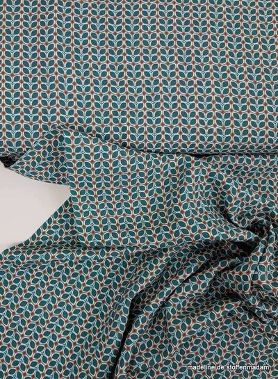 tagas appelblauw zeegroen - viscose