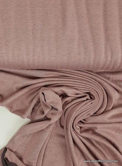 pink double face - Italian viscose jersey