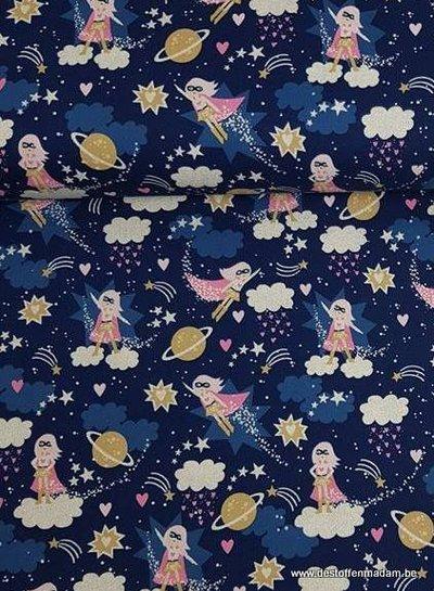 Timeless Treasures Fabrics superwoman - cotton