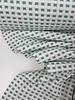 mintgroene vierkantjes - zachte structuurtricot