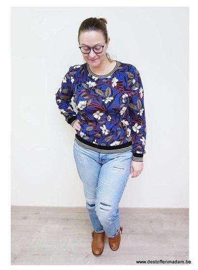 Een simpele rekbare blouse