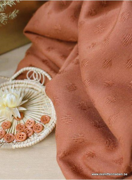 Rayon Diamond chestnut