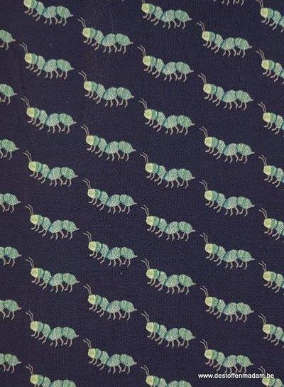 blauw krabbelkrabbel - tricot