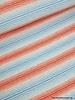 blauw/roze ecuador streepjes - viscose tricot