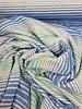 blue/mint ecuador streepjes - viscose tricot