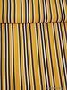 fascination verticale strepen geel - Italiaanse  viscose