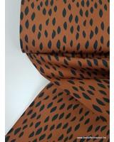 roest spots - superzachte dunne katoen
