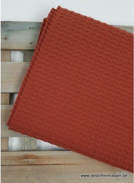 rusty - waffle cotton
