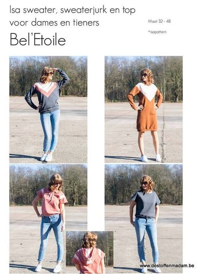 Bel'Etoile Isa sweater, sweaterjurk en top for ladies and teens