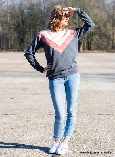 Isa sweater, sweaterjurk en top voor dames en tieners