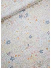 pastel flower - cotton
