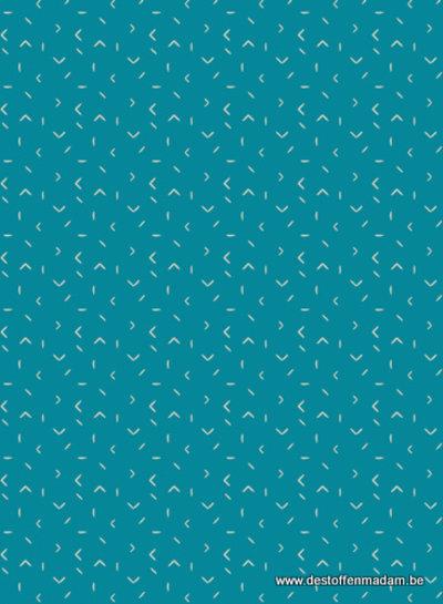 turquoise matchmade - katoen