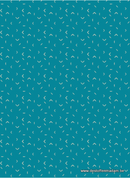 turquoise matchmade - cotton