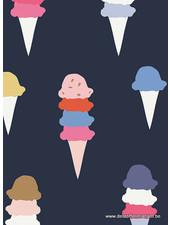 ijsjes - katoen