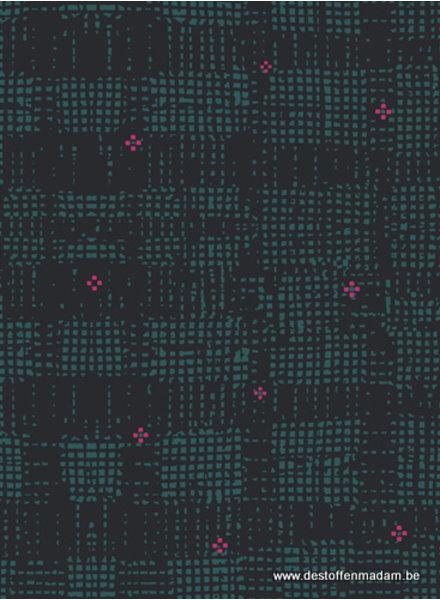 grid groen - katoen