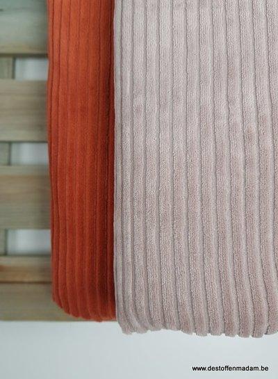 rusty - knit rib
