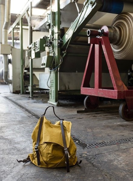 Merchant & Mills Right to roam Rucksack patroon