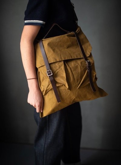 Merchant & Mills Right to roam Rucksack patroon