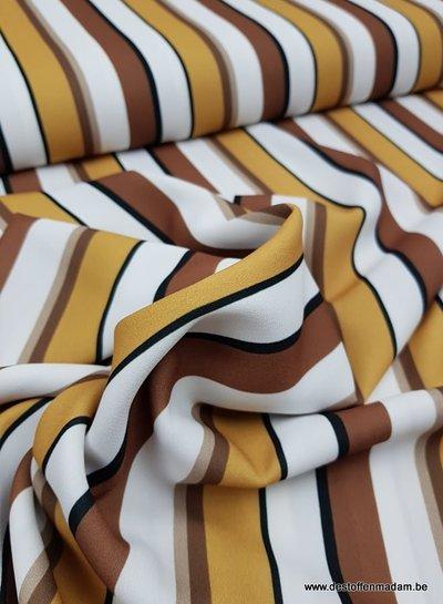 my favorite stripes - Italiaanse soepelvallende stof
