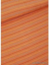 hippe oranje strepen - Italiaanse  linnen