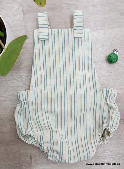 blue recycled cotton - linen touch