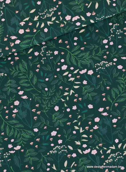 Flower Garden - Darkest Spruce Green - FT