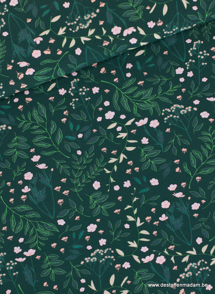 Flower garden - donkerste denneboom groen - FT