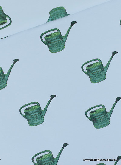 See You at Six watering cans - katoen twill