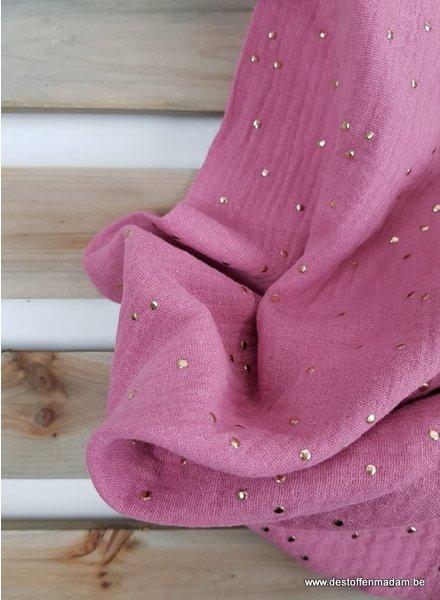 golden dots pink - tetra
