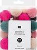 pompon set -  jolly pastel