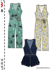 it's a fits  -  1108 Jumpsuit, broek, overal