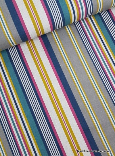 multi stripes  - deco fabric