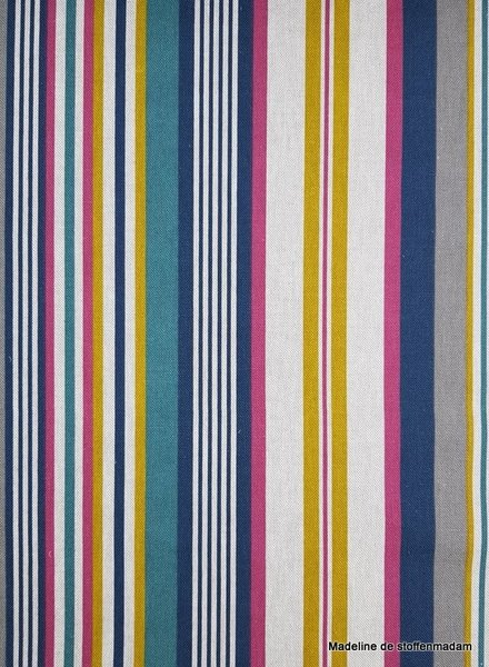 multi stripes  - deco fabric