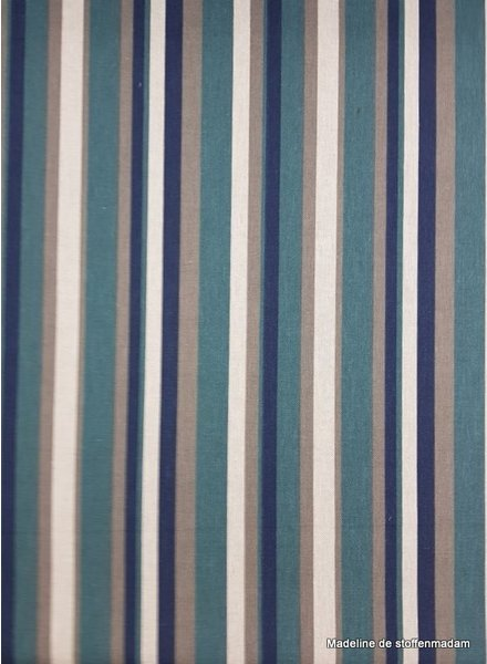 stripes green - deco fabric