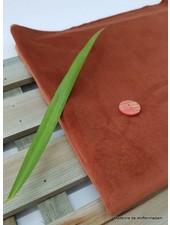 rust velvet - deco fabric