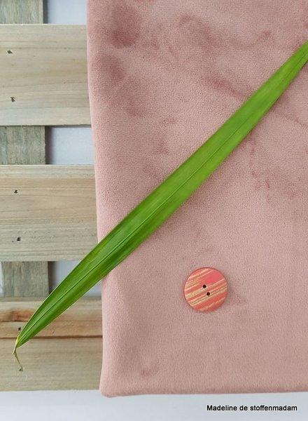old pink velvet - deco fabric