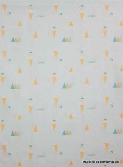ice cream - poplin katoen