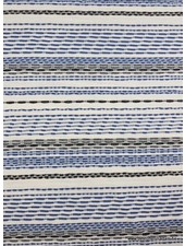 blue dashed lines - viscose jersey