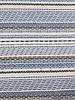 blauwe onderbroken streepjes - viscose tricot
