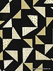Just right - Black & gold  - katoen