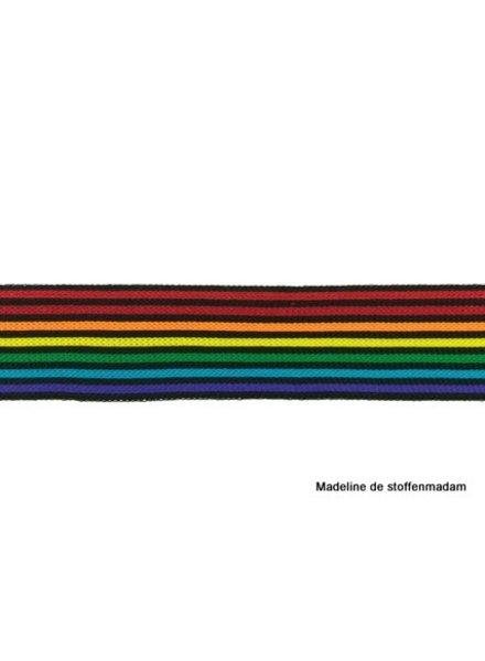 regenboog smal lint zijkant broek