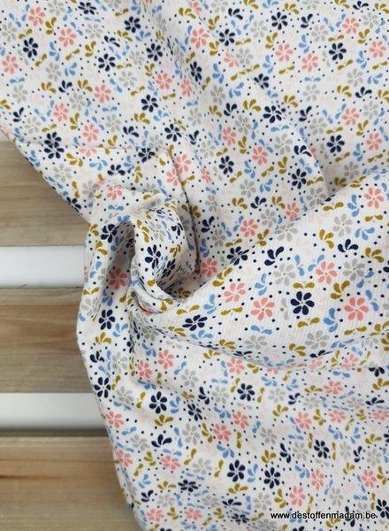 flowerfun  babyrib - katoen