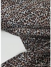 mini leopard print - viscose