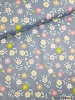 pastel flowers - cotton