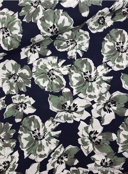 artistic flowers - viscose