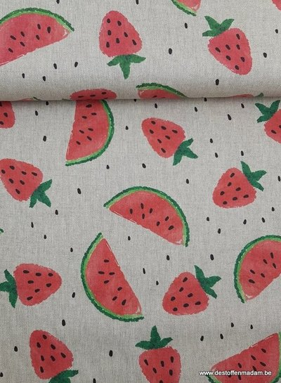 healthy fruit - deco fabric