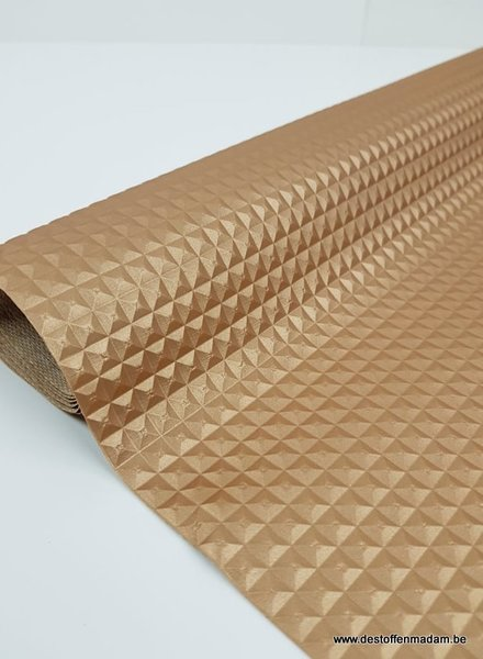 gold  - 3D imitation leather