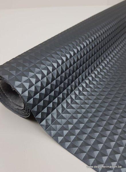 grijs -  3D imitatieleer