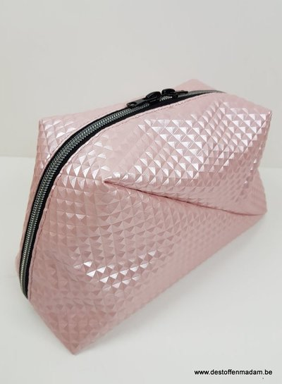 pale pink  - 3D imitation leather