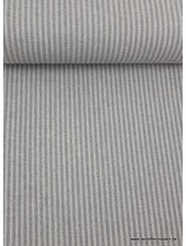 grey  stripes - washed canvas